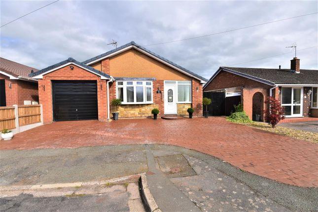 Thumbnail Detached bungalow for sale in Ffordd Tegid, Wrexham