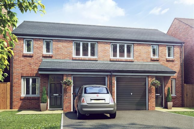 "Thumbnail Semi-detached house for sale in ""The Rufford "" at Exelby Road, Bedale"