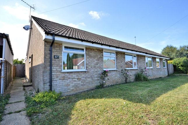 3 bed semi-detached bungalow for sale in Burgh Lane, Mattishall, Dereham