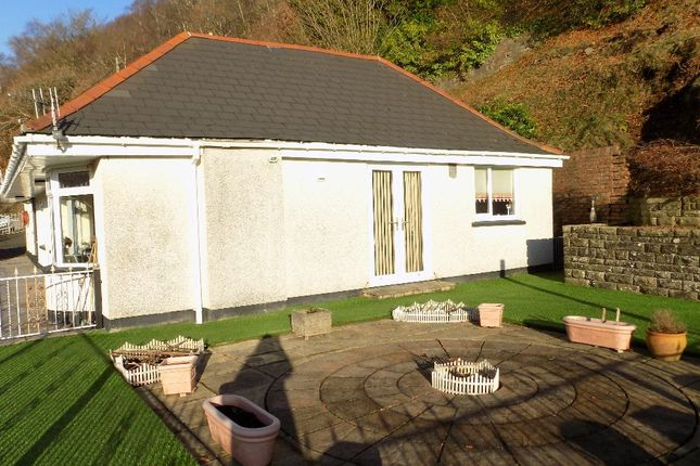Thumbnail Bungalow for sale in The Croft, Church Road, Aberbeeg. NP132Aa.