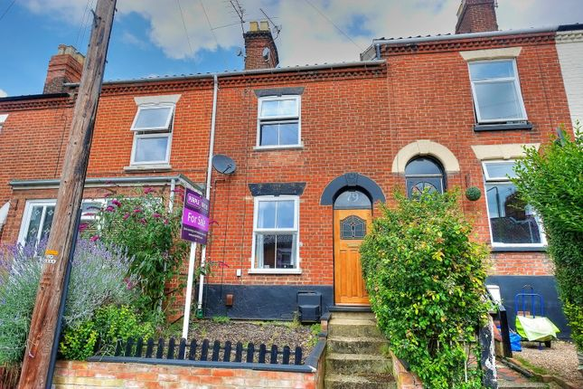 Thumbnail Terraced house for sale in Marlborough Road, Norwich