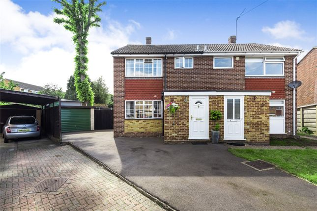 Thumbnail Semi-detached house for sale in Row Town, Surrey