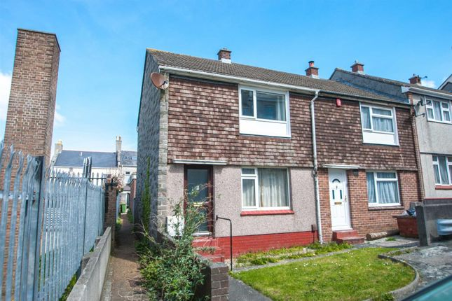 Thumbnail End terrace house to rent in Herbert Place, Plymouth