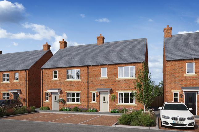 Thumbnail End terrace house for sale in Brick Kiln Road, Raunds, Wellingborough