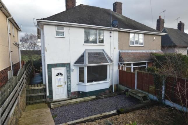 Thumbnail Semi-detached house for sale in Handley Road, New Whittington, Chesterfield, Derbyshire