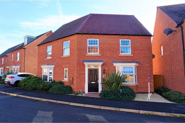 Thumbnail Detached house for sale in Suffolk Way, Church Gresley, Swadlincote