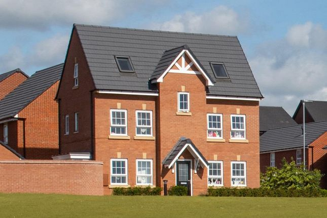 "Thumbnail Detached house for sale in ""Hexham"" at Beggars Lane, Leicester Forest East, Leicester"