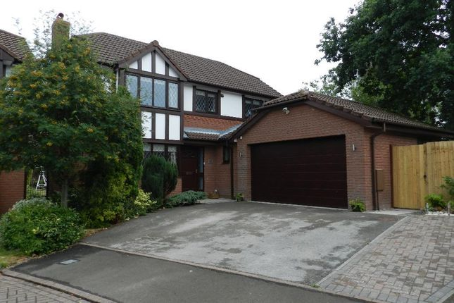 Thumbnail Detached house to rent in Doeford Close, Culcheth, Warrington
