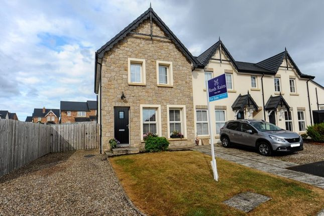 Thumbnail Terraced house for sale in River Hill Crescent, Newtownards