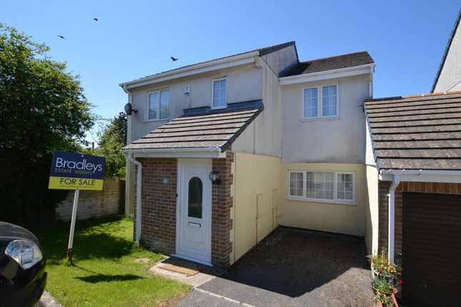 Thumbnail Link-detached house for sale in Fairview Park, St. Columb Road, St. Columb, Cornwall