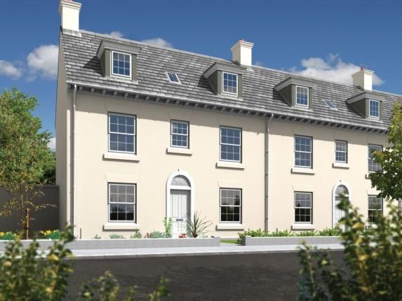 Thumbnail Semi-detached house for sale in Nansledan, Newquay
