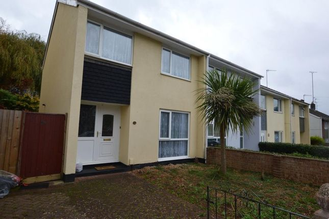 Thumbnail End terrace house to rent in Queensway, Torquay, Devon