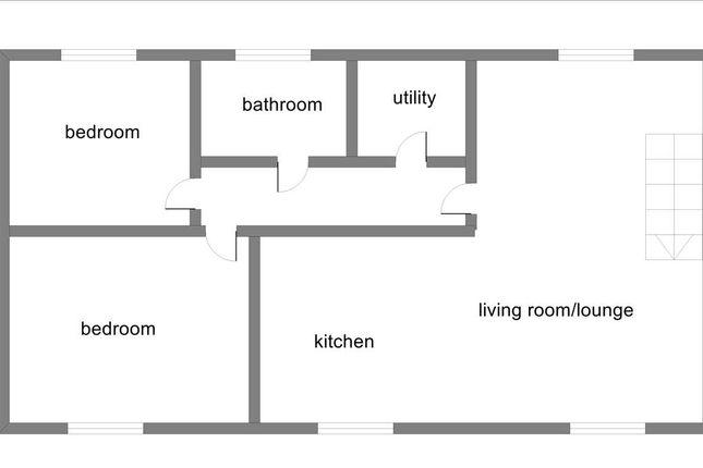 Floor Plan of Norman Edwards Close, Nether Whitacre, Coleshill, Birmingham B46