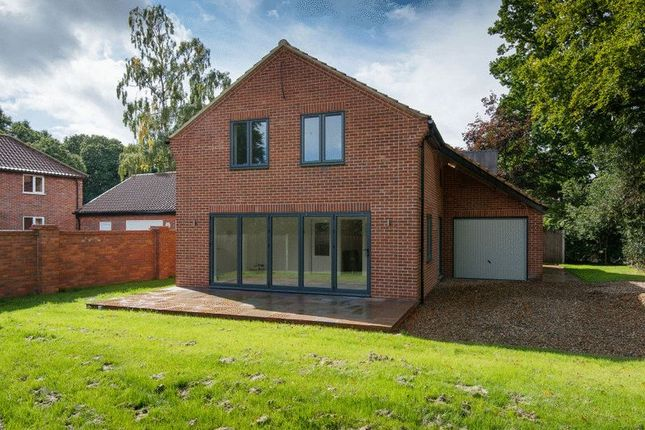 Thumbnail Detached house for sale in Poringland Road, Stoke Holy Cross, Norwich