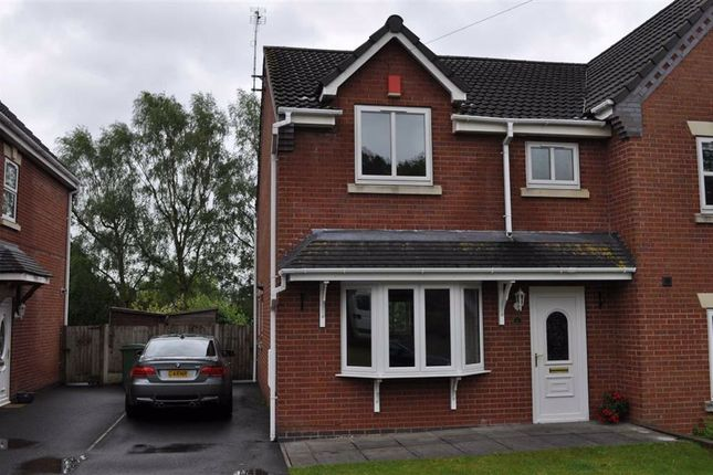 Thumbnail Semi-detached house to rent in Chandridge Court, Oulton, Stone