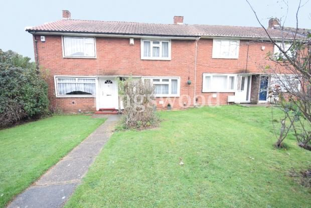 Thumbnail Terraced bungalow for sale in Witchards, Kingswood