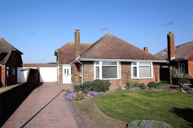 Thumbnail Detached bungalow for sale in Alinora Crescent, Goring By Sea, West Sussex