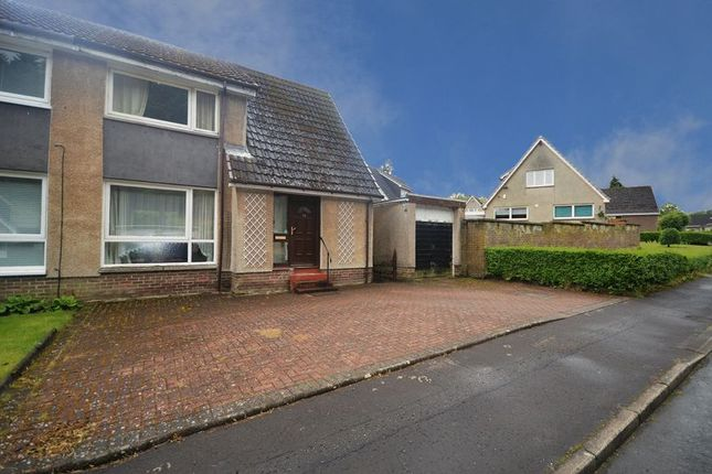 Thumbnail Semi-detached house for sale in Liberton Drive, Leslie, Glenrothes