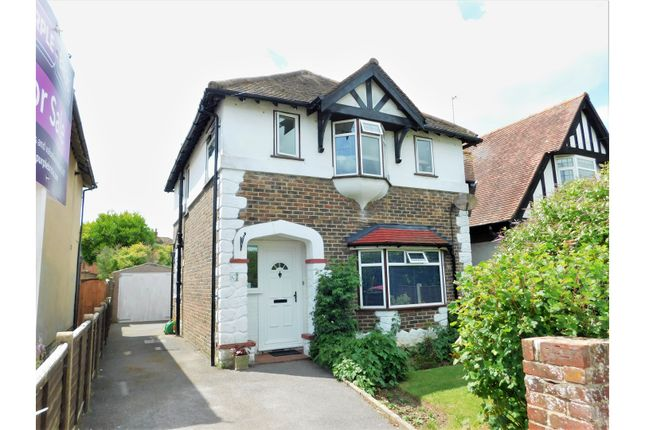 Thumbnail Detached house for sale in Downlands Avenue, Worthing