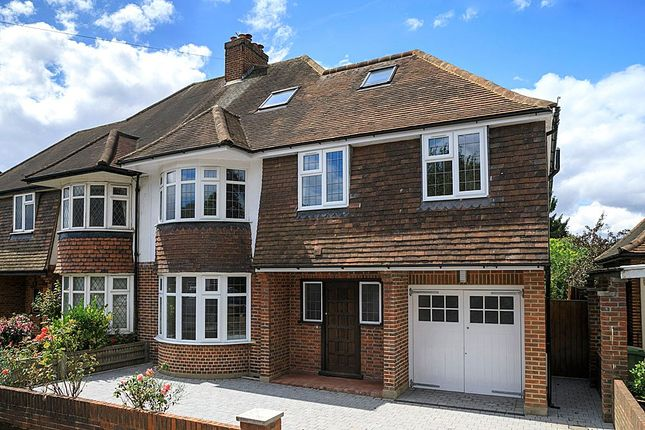 Thumbnail Semi-detached house for sale in Holland Avenue, Wimbledon