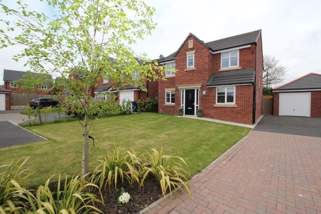 Thumbnail Detached house for sale in Grove Farm Drive, Adlington, Chorley