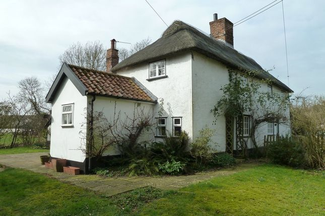 Thumbnail Semi-detached house to rent in Heckfield Green, Hoxne, Eye, Suffolk