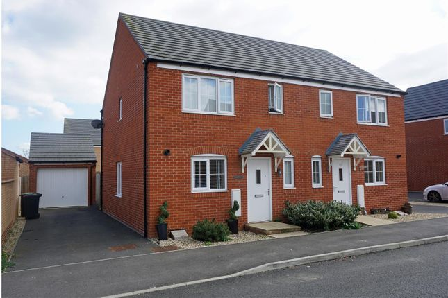 Thumbnail Semi-detached house for sale in Chaffinch Green, Lower Stondon, Henlow