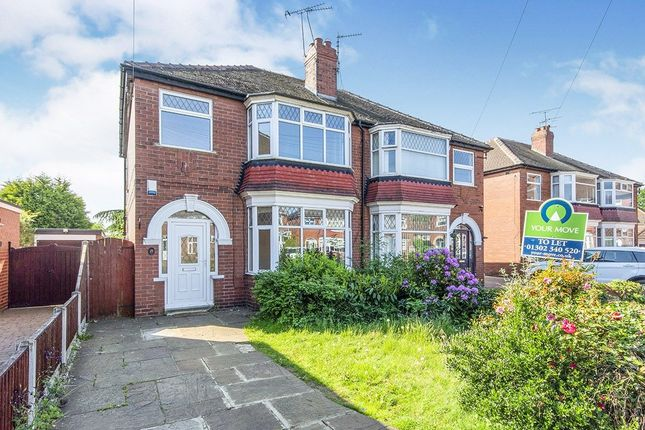 Semi-detached house to rent in West Grove, Doncaster