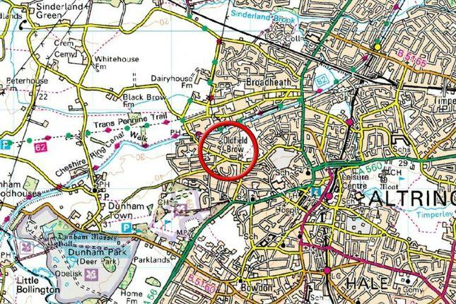 Town Plan of Denbury Drive, Altrincham WA14