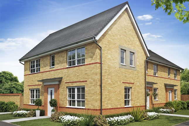"Thumbnail Semi-detached house for sale in ""Ennerdale"" at Morganstown, Cardiff"