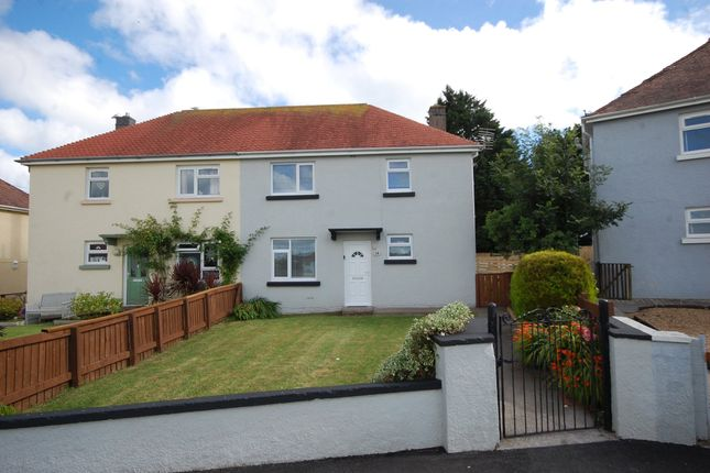 Thumbnail Semi-detached house to rent in Holloway Court, Penally, Tenby