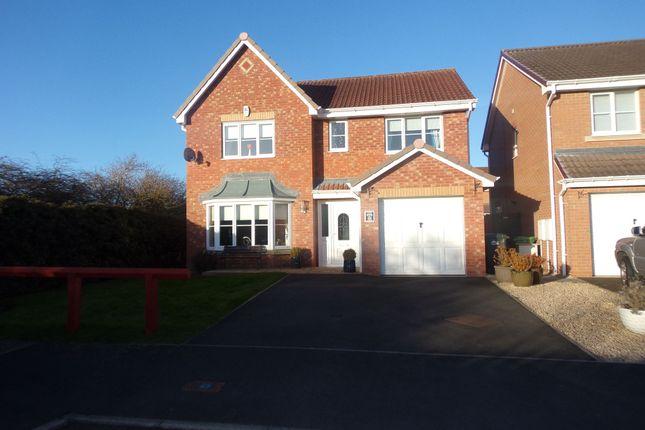 Thumbnail Detached house for sale in Cragside Gardens, Bedlington