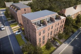 Thumbnail Town house for sale in St Stephens Road, Salford