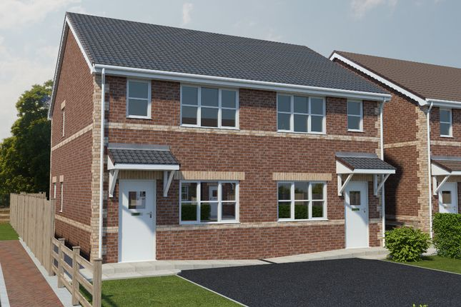 Thumbnail Semi-detached house for sale in Noble Road, North Wingfield, Chesterfield