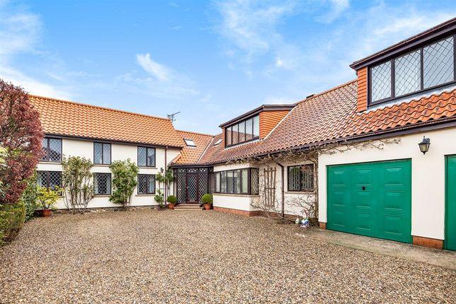 Thumbnail Detached house for sale in St. Michaels Walk, Bempton, Bridlington
