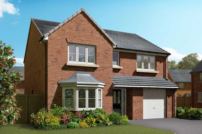 "Thumbnail Detached house for sale in ""The Haxby"" at Stoney Haggs Road, Scarborough"