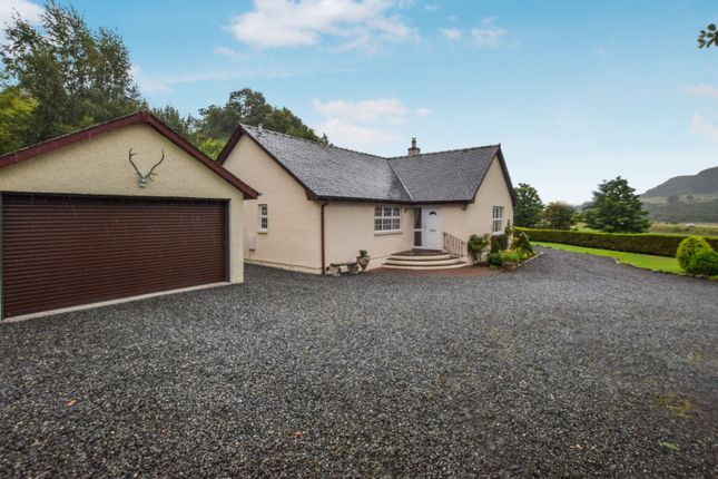 Thumbnail Detached bungalow for sale in East Haugh, Pitlochry