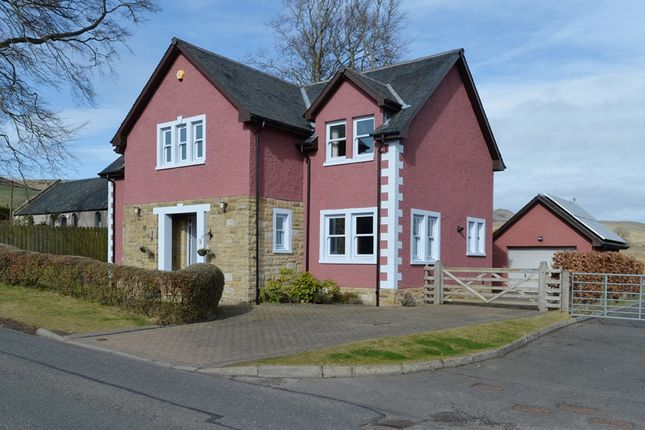 Thumbnail Detached house for sale in Hopelands Road, Silverburn, Midlothian