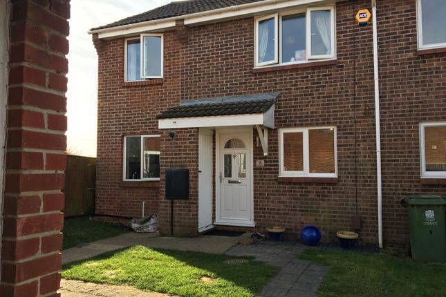 Thumbnail Semi-detached house for sale in The Linnets, Fareham