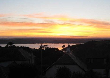 Stunning Sunset of St. Just In Roseland, Truro, Cornwall TR2