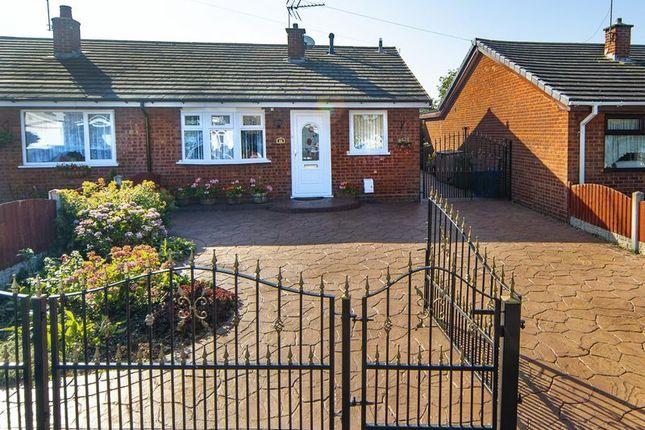 Thumbnail Semi-detached bungalow for sale in East Road, Brinsford, Wolverhampton