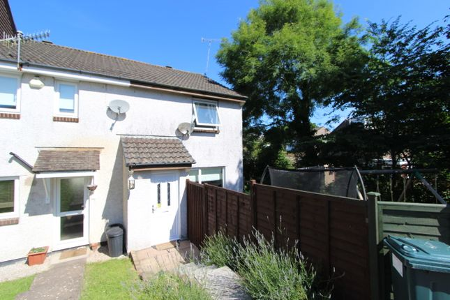 Thumbnail End terrace house for sale in Cedar Close, Torpoint, Cornwall