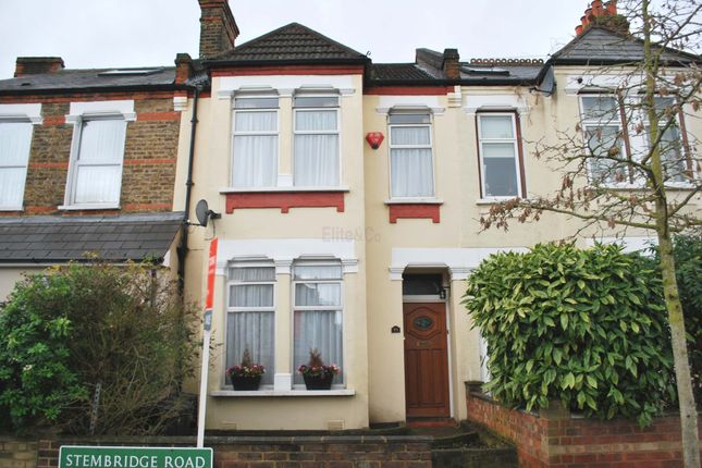 Thumbnail Terraced house for sale in Stembridge Road, London