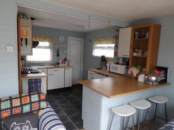Kitchen of Glan Gwna Holiday Park, Caeathro, Caernarfon, Gwynedd LL55
