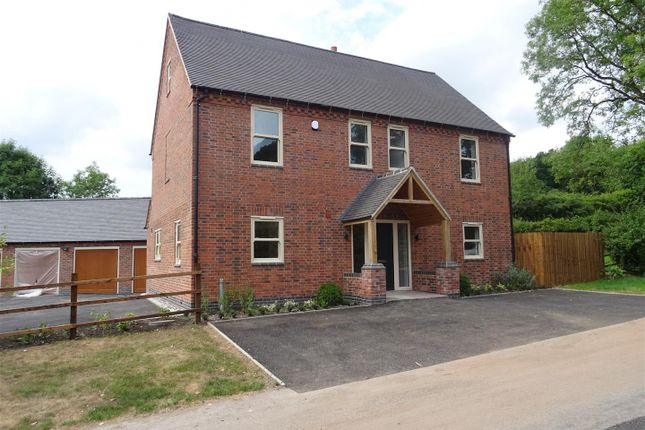 Thumbnail Detached house for sale in Melbourne Road, Newbold Coleorton, Leicestershire