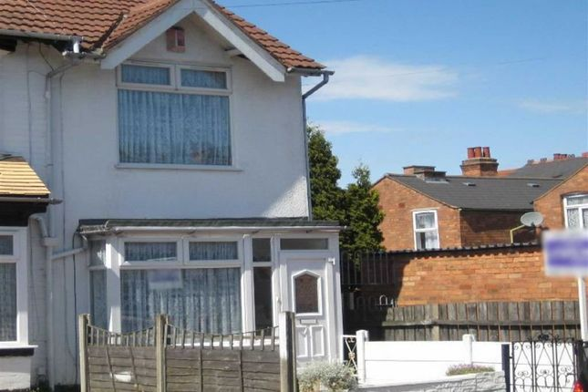 Thumbnail End terrace house to rent in Foley Road, Washwood Heath, Birmingham