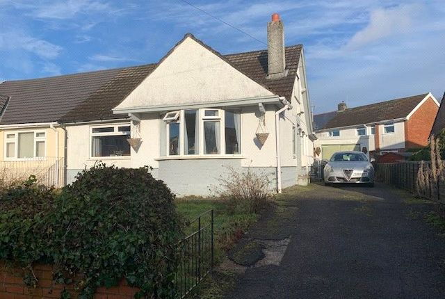 Thumbnail Bungalow for sale in Glanhowy Street, Scwrfa, Tredegar, Gwent