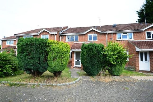 Thumbnail Terraced house to rent in Arthur Close, Bagshot