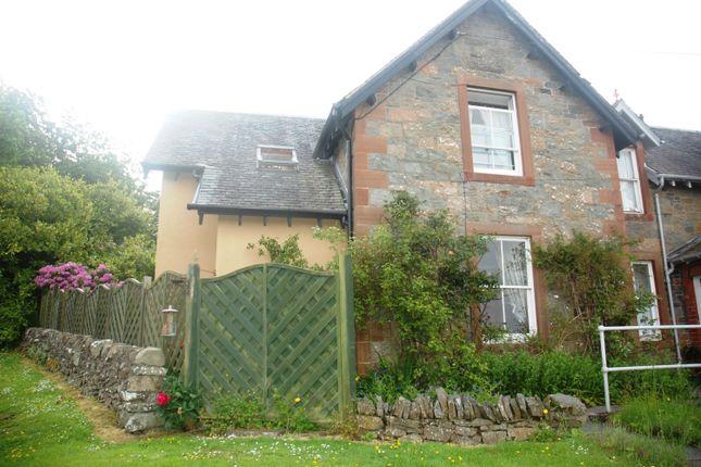 Thumbnail End terrace house for sale in Shilling House, Shillinghill, Kirkcudbright