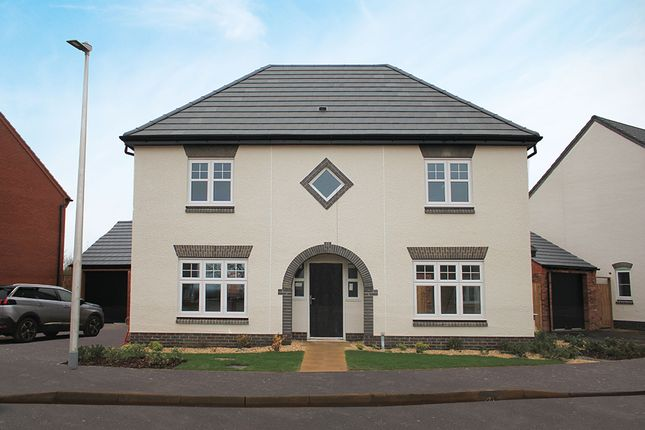 "Thumbnail Detached house for sale in ""The Spruce"" at Southam Road, Radford Semele, Leamington Spa"